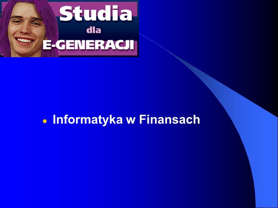 Informatyka w Finansach