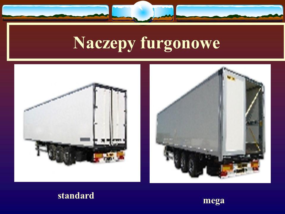 Naczepy furgonowe standard mega