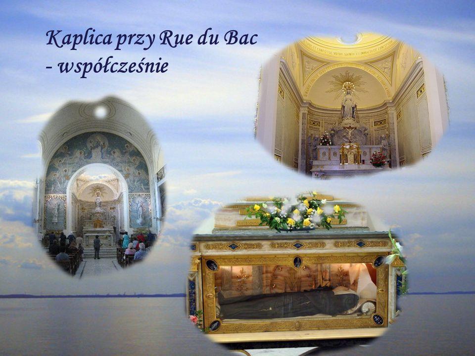 Kaplica przy Rue du Bac - współcześnie