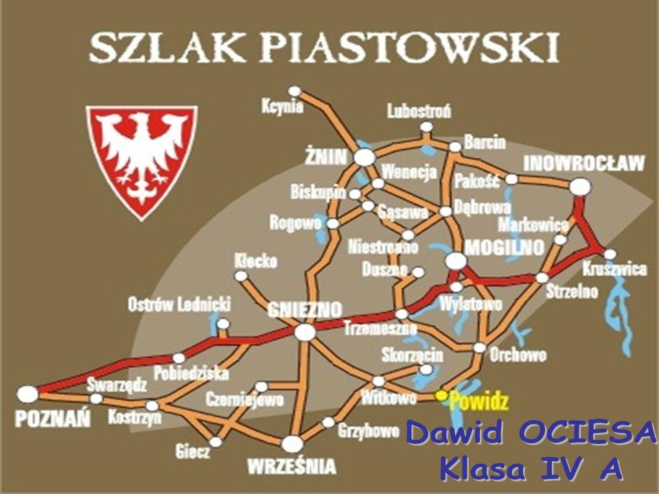 MOGILNO: położone nad Jeziorem Mogileńskim, należy do najstarszych osad na pograniczu Wielkopolski i Kujaw, jednym z terenów, na których kształtowało się państwo polskie.