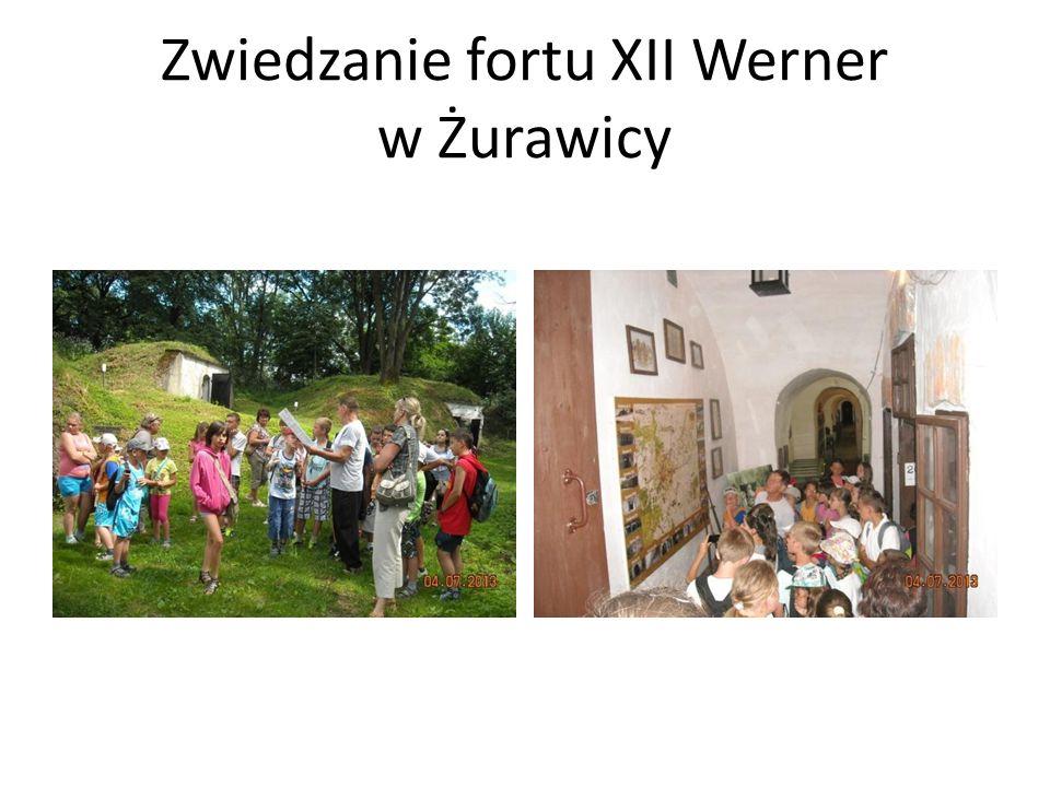 Zwiedzanie fortu XII Werner w Żurawicy