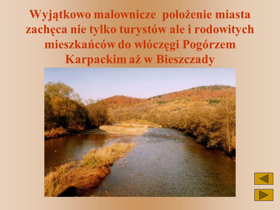 Z Przemyśla w Bieszczady, a tam już morze Solińskie wita i kusi...