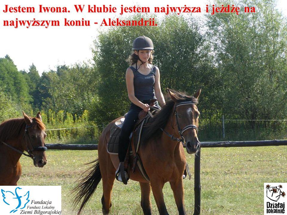 Jestem Martyna, mam 11 lat.Konie sprawiły, że były to moje najpiękniejsze wakacje.