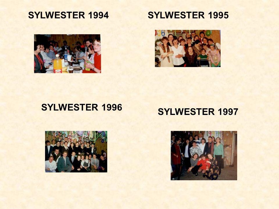 SYLWESTER 1994 SYLWESTER 1995 SYLWESTER 1996 SYLWESTER 1997