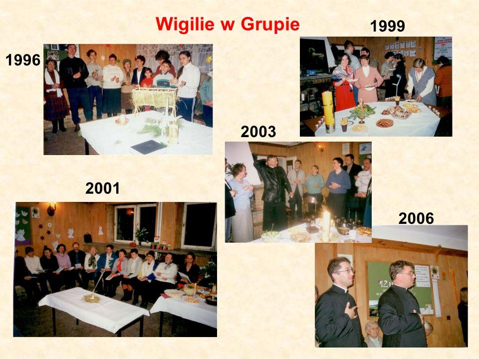 Wigilie w Grupie 1996 2006 1999 2001 2003