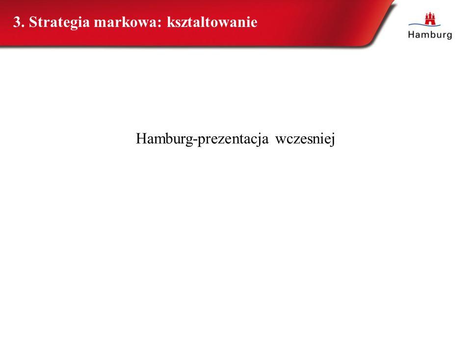 Hamburg-prezentacja wczesniej 3. Strategia markowa: ksztaltowanie