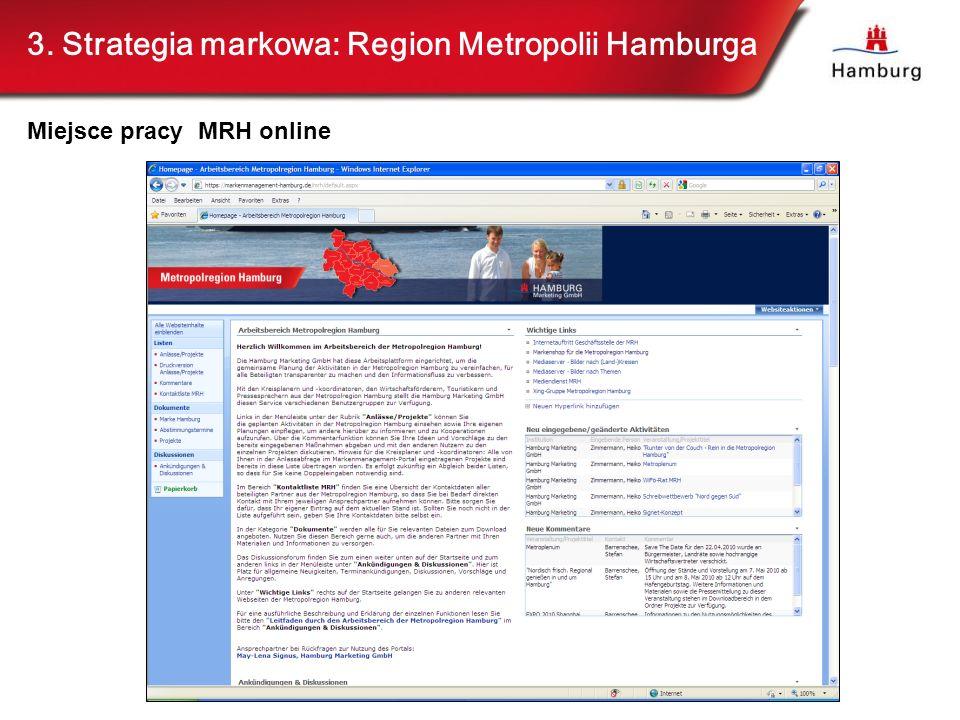 3. Strategia markowa: Region Metropolii Hamburga Miejsce pracy MRH online
