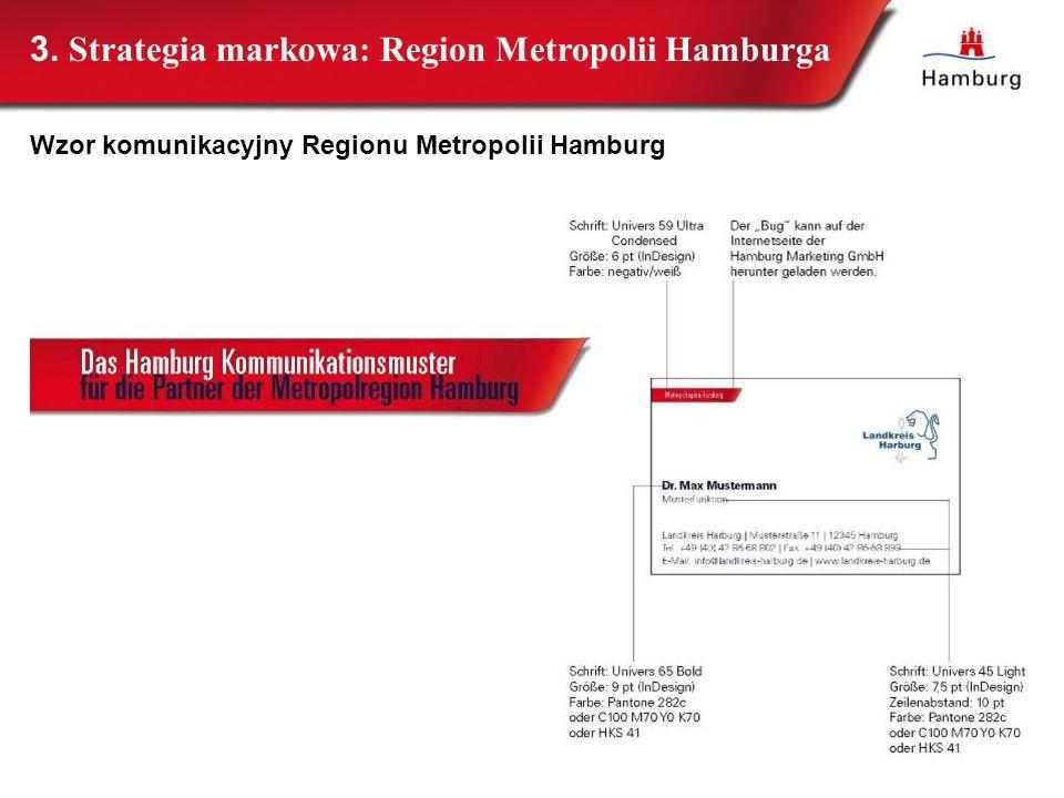 32 3. Strategia markowa: Region Metropolii Hamburga Wzor komunikacyjny Regionu Metropolii Hamburg