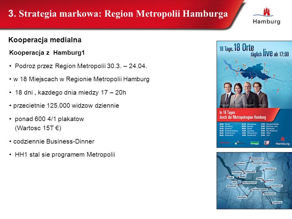 Kooperacja z Hamburg1 Podroz przez Region Metropolii 30.3. – 24.04. w 18 Miejscach w Regionie Metropolii Hamburg 18 dni, kazdego dnia miedzy 17 – 20h