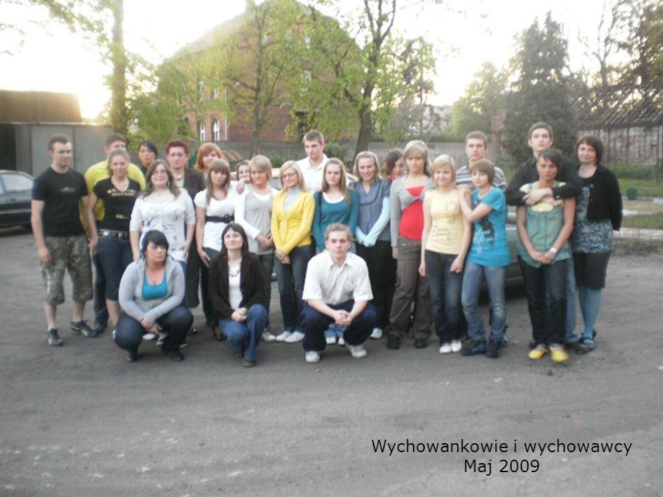 Wychowankowie i wychowawcy Maj 2009