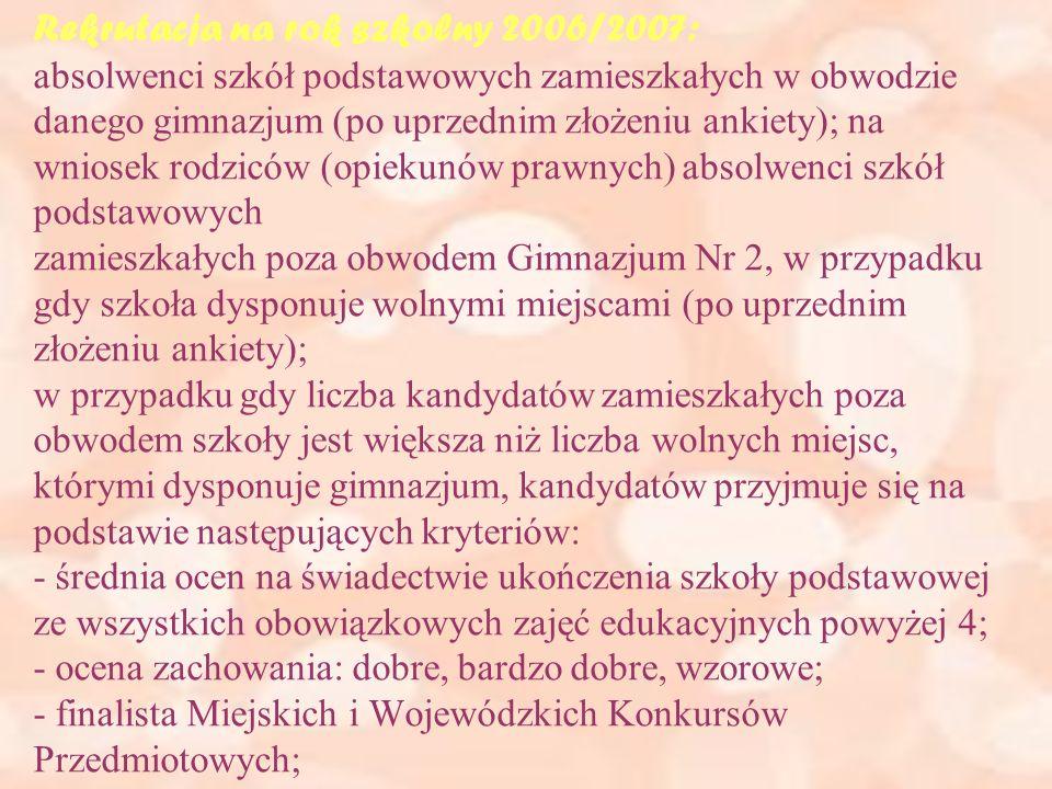 W naszej szkole nie tylko się uczymy, ale też zwiedzamy kraj i świat - - klasy z językiem francuskim w I i II klasie wyjeżdżają na wycieczki do Francji (Paryż, Lazurowe Wybrzeże) - klasy o profilu mat-ang i o profilu ogólnym wyjeżdżają w góry (Polskie Tatry lub Czechy) - wyjazdy na narty do Bukowiny Tatrzańskiej w sezonie zimowym oraz obozy letnie podczas wakacji