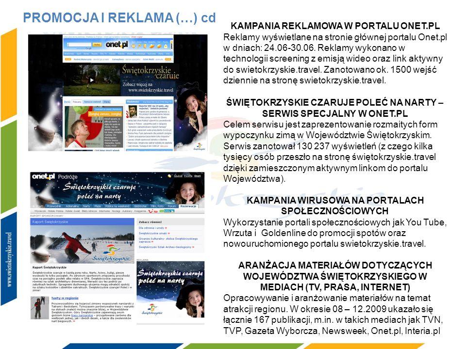 KAMPANIA REKLAMOWA W PORTALU ONET.PL Reklamy wyświetlane na stronie głównej portalu Onet.pl w dniach: 24.06-30.06. Reklamy wykonano w technologii scre