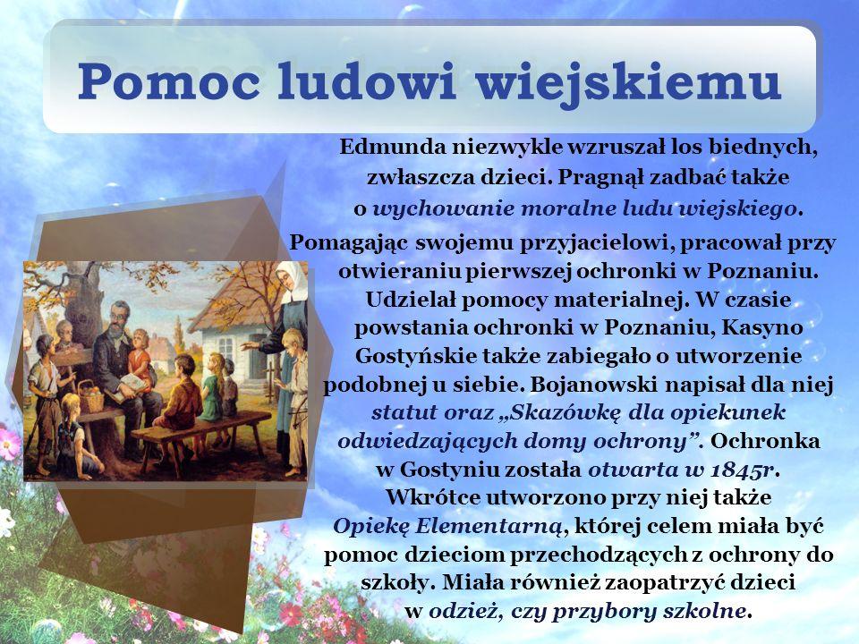 Z tego powodu Bojanowski sprowadził do Gostynia Siostry Miłosierdzia.