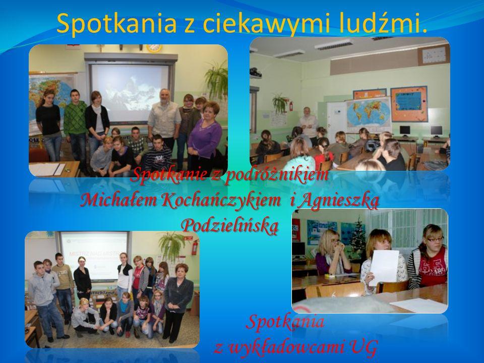 Spotkania z ciekawymi ludźmi. Spotkania z wykładowcami UG Spotkanie z podróżnikiem Michałem Kochańczykiem i Agnieszką Podzielińską