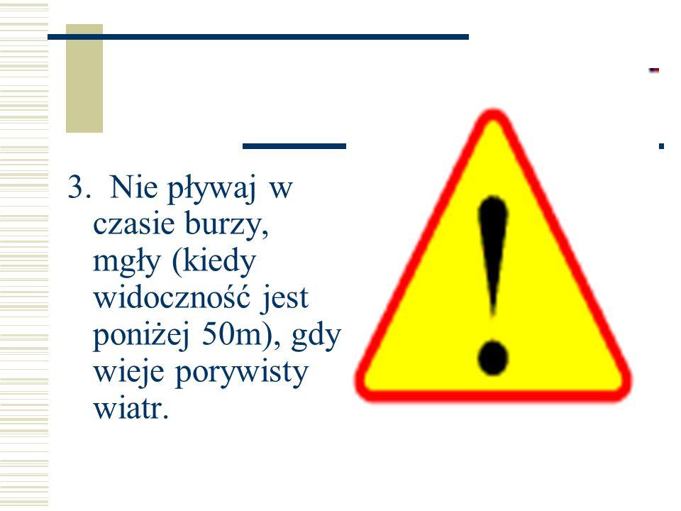 4. Nie skacz rozgrzany do wody!
