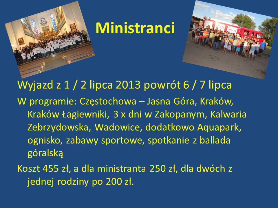 Termin 5-15.07.2013 Informację i zapisy: www.poznanskapielgrzymka.pl
