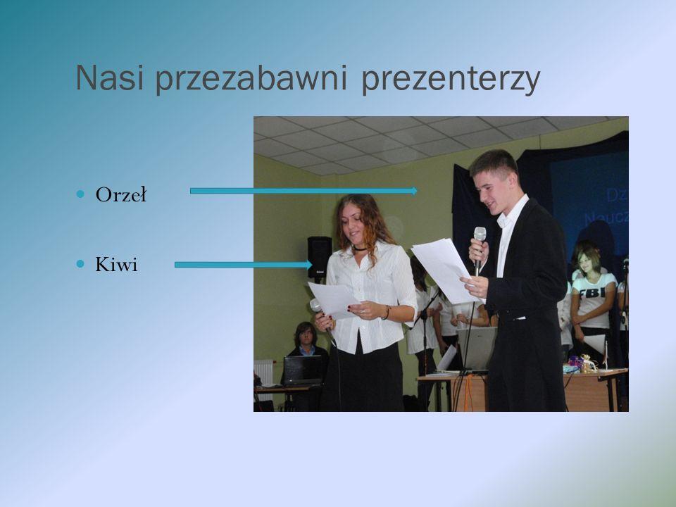 Nasi przezabawni prezenterzy Orzeł Kiwi