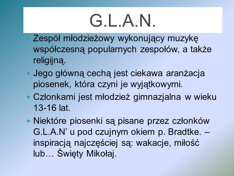 G.L.A.N. raduje – oto dowody