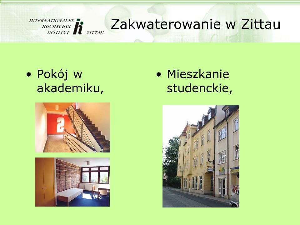 Zakwaterowanie w Zittau Pokój w akademiku, Mieszkanie studenckie,