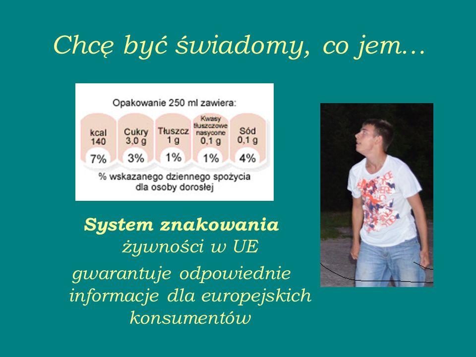 Chcę być świadomy, co jem… System znakowania żywności w UE gwarantuje odpowiednie informacje dla europejskich konsumentów