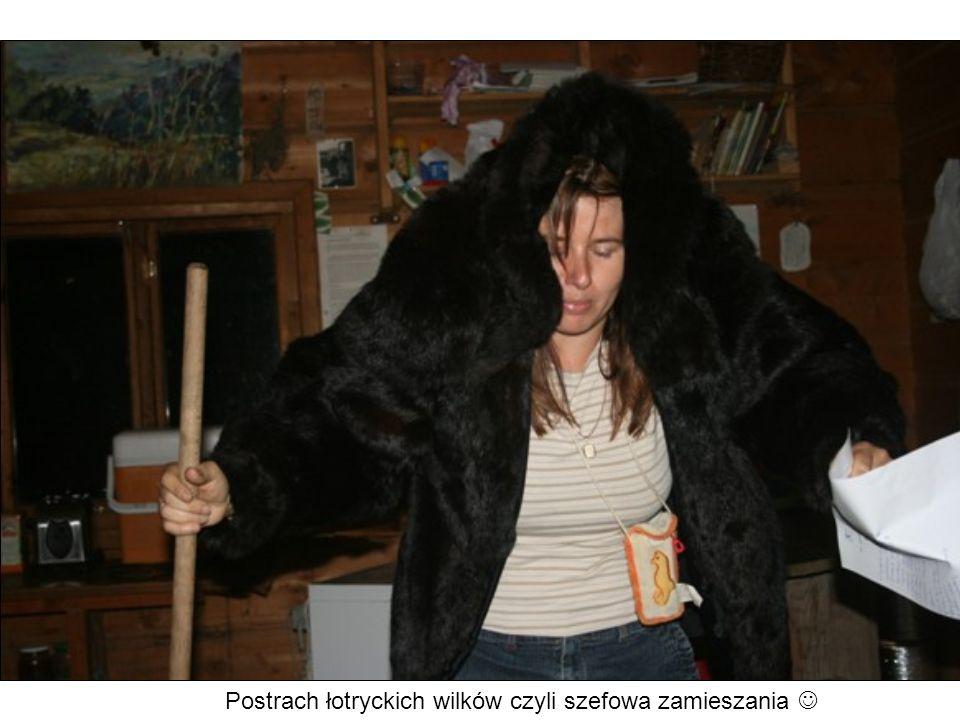 Postrach łotryckich wilków czyli szefowa zamieszania