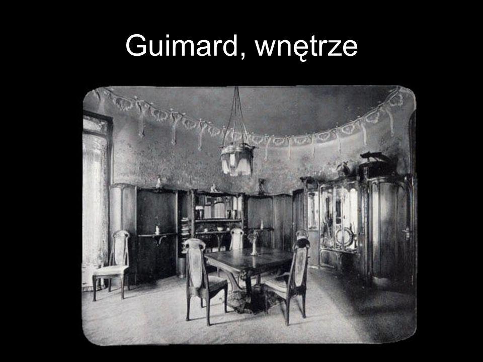 Guimard, wnętrze