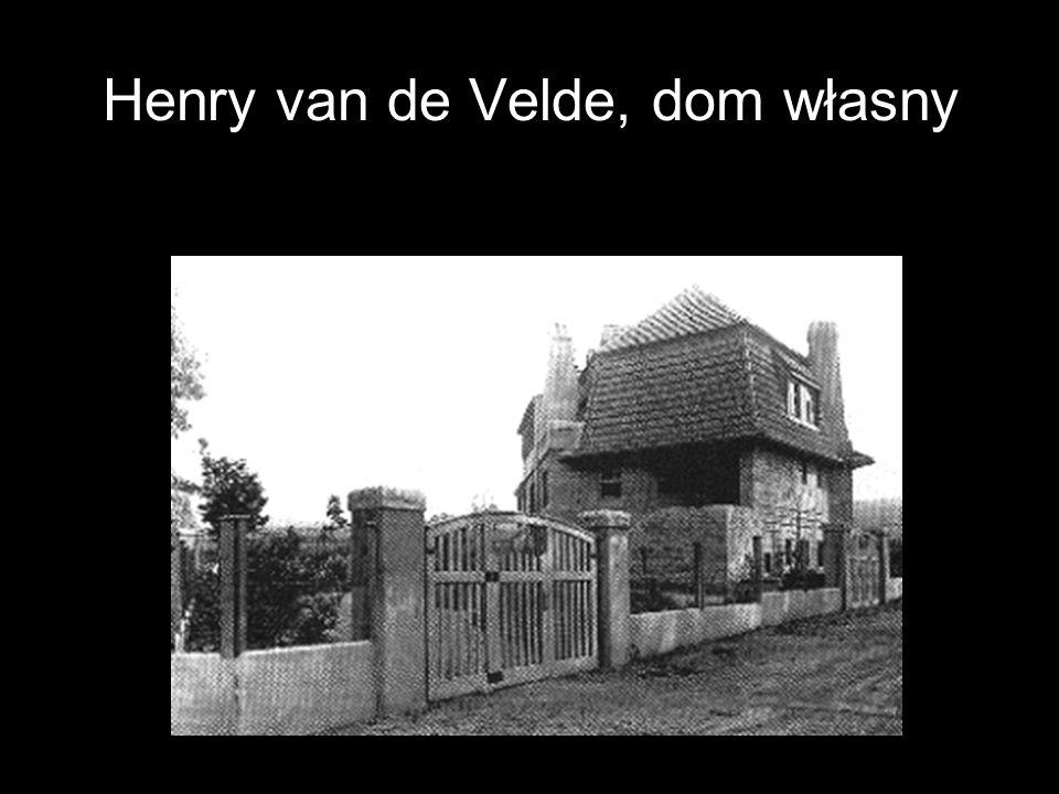 Henry van de Velde, dom własny