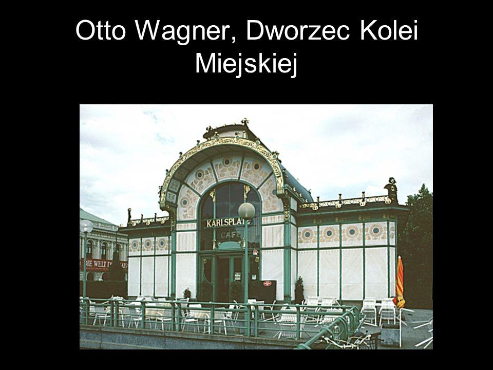 Otto Wagner, Dworzec Kolei Miejskiej