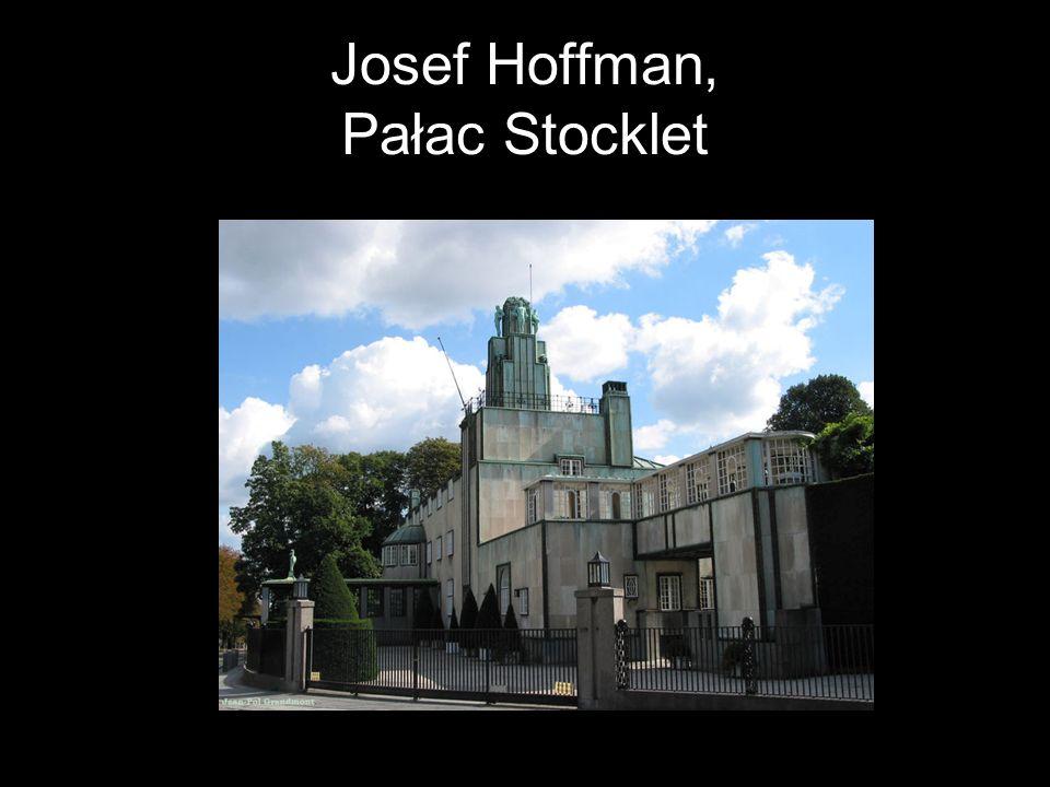 Josef Hoffman, Pałac Stocklet
