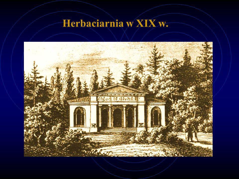 Herbaciarnia w XIX w.