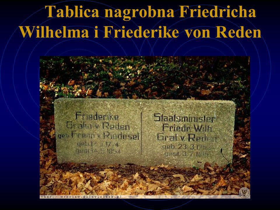 Tablica nagrobna Friedricha Wilhelma i Friederike von Reden
