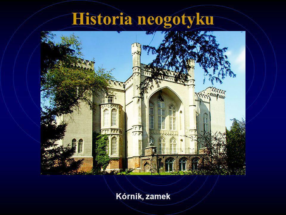 Historia neogotyku Kórnik, zamek