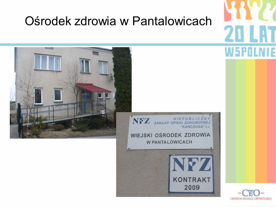 Ośrodek zdrowia w Pantalowicach