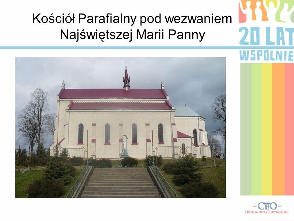 Kościół Parafialny pod wezwaniem Najświętszej Marii Panny