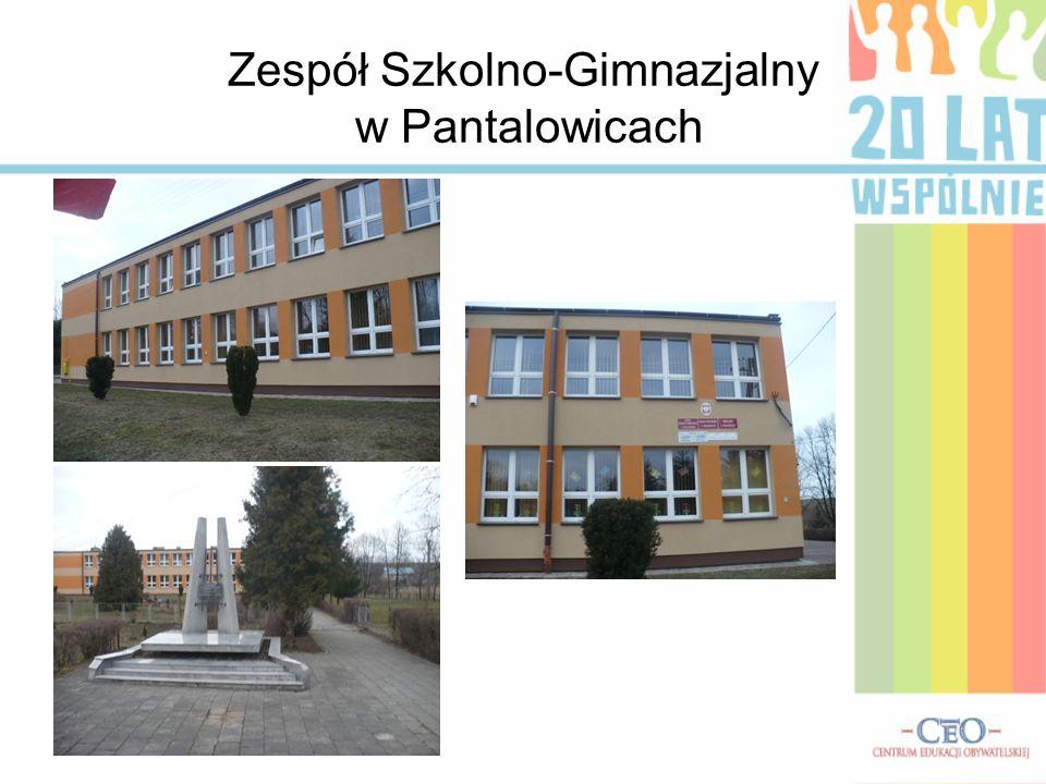 Zespół Szkolno-Gimnazjalny w Pantalowicach