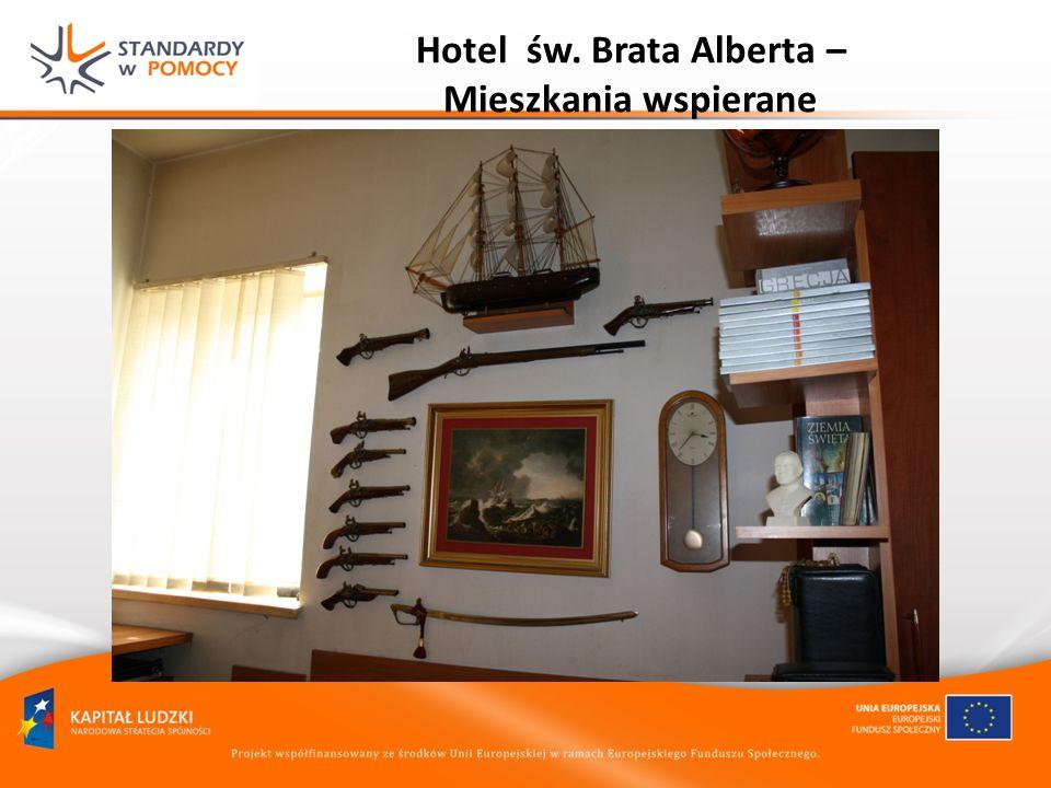 Hotel św. Brata Alberta – Mieszkania wspierane