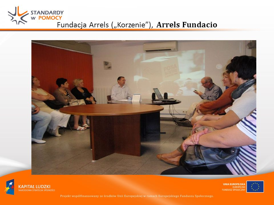 Fundacja Arrels (Korzenie), Arrels Fundacio