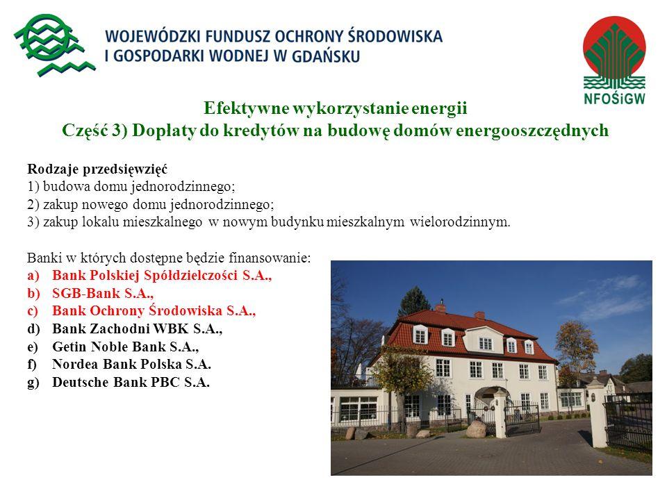 14 Rodzaje przedsięwzięć 1) budowa domu jednorodzinnego; 2) zakup nowego domu jednorodzinnego; 3) zakup lokalu mieszkalnego w nowym budynku mieszkalny