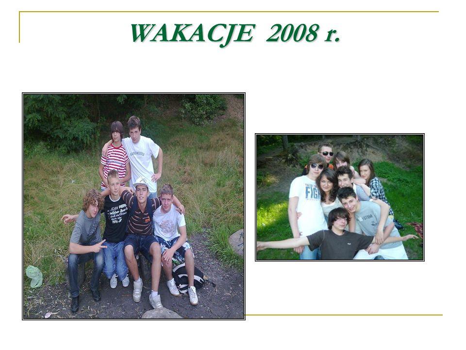 WAKACJE2008 r. WAKACJE 2008 r.