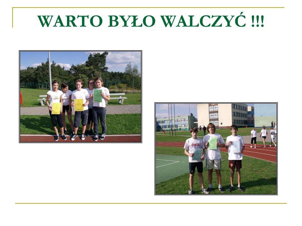 WARTO BYŁO WALCZYĆ !!!