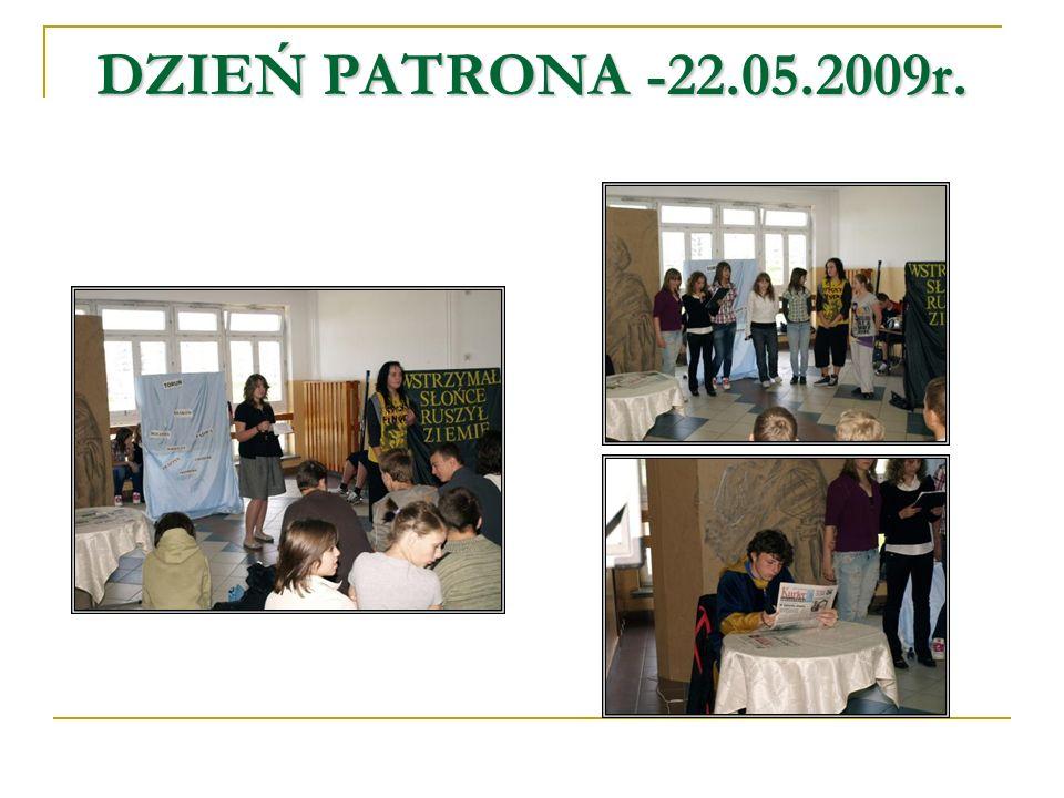 DZIEŃ PATRONA -22.05.2009r.