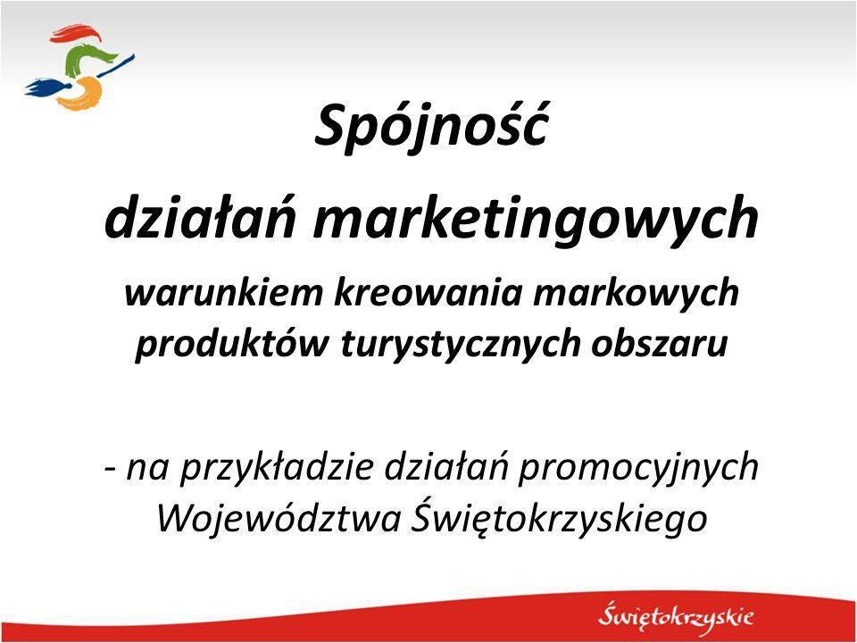 Spójność działań marketingowych warunkiem kreowania markowych produktów turystycznych obszaru - na przykładzie działań promocyjnych Województwa Święto
