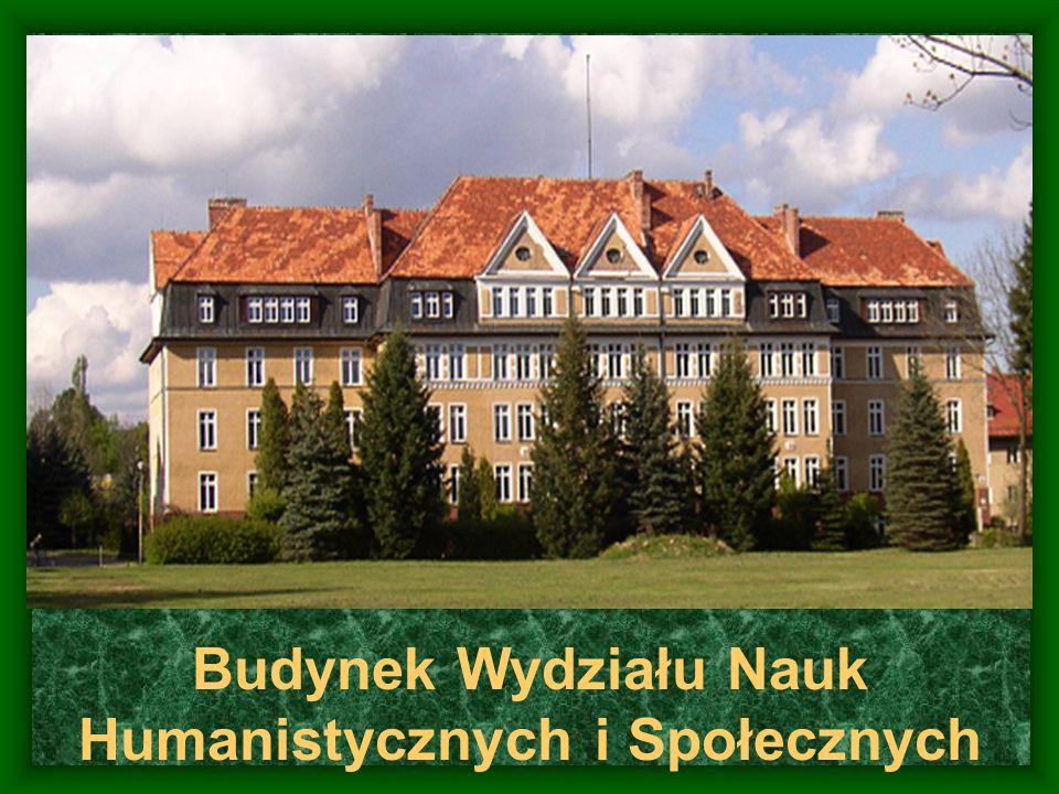 Budynek Wydziału Nauk Humanistycznych i Społecznych