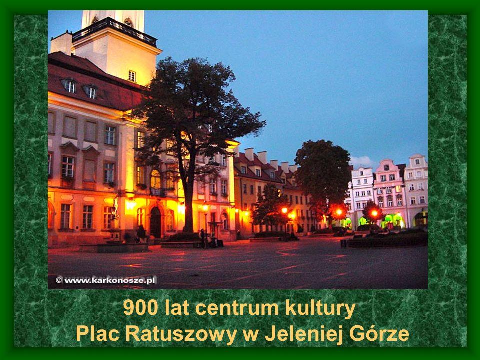 900 lat centrum kultury Plac Ratuszowy w Jeleniej Górze