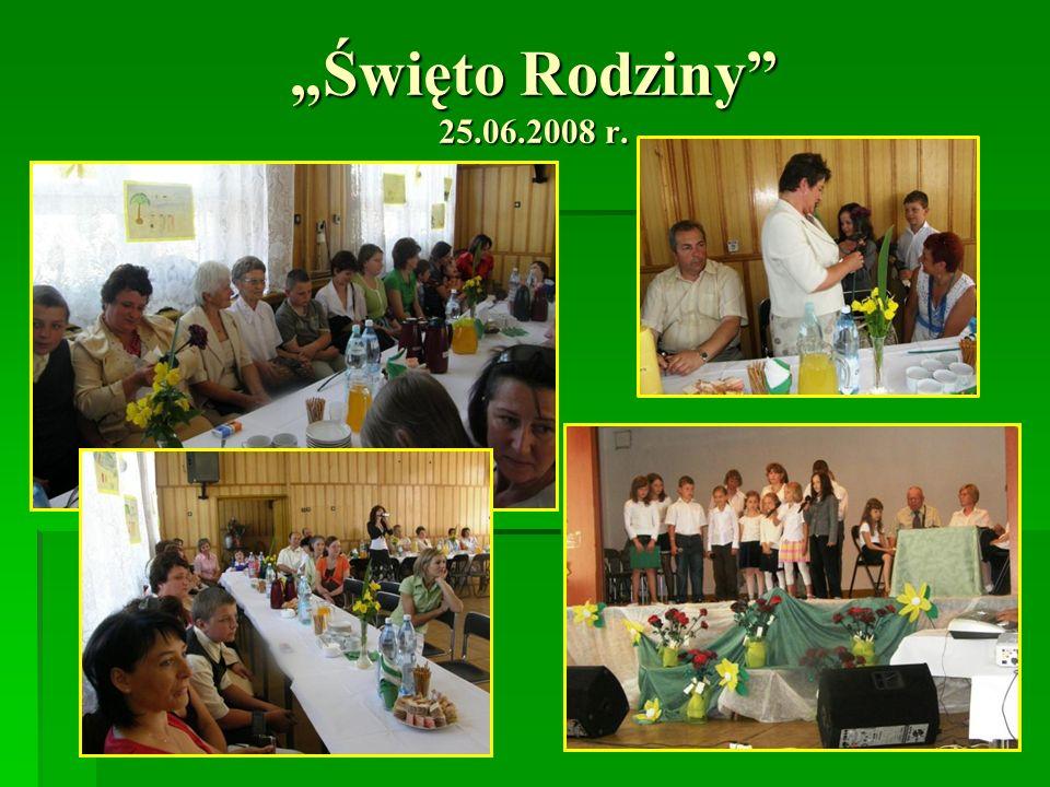 Święto Rodziny 25.06.2008 r.