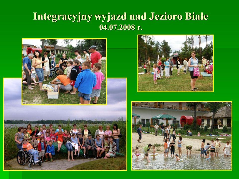 Integracyjny wyjazd nad Jezioro Białe 04.07.2008 r.