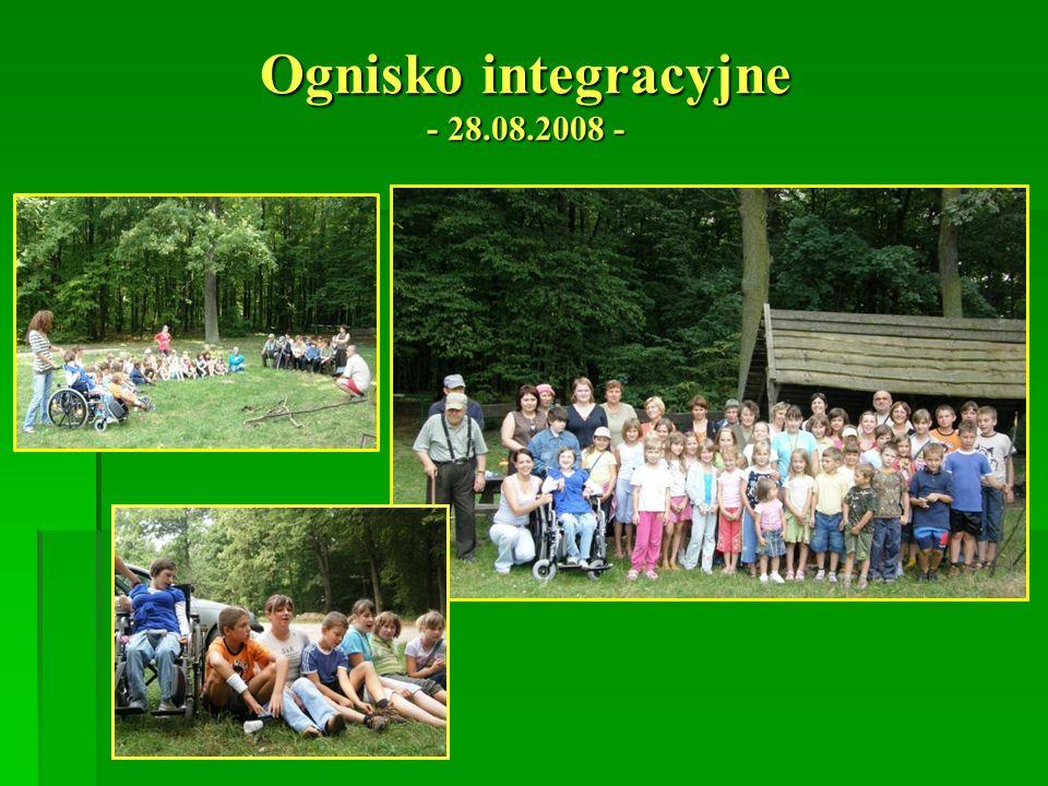 Ognisko integracyjne - 28.08.2008 -