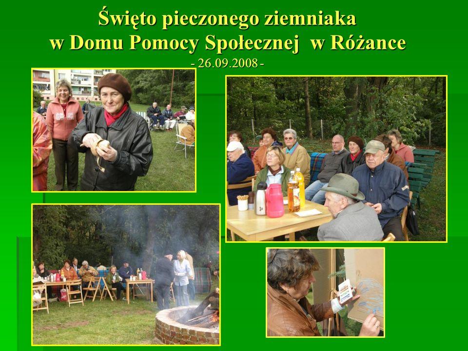 Święto pieczonego ziemniaka w Domu Pomocy Społecznej w Różance - 26.09.2008 -