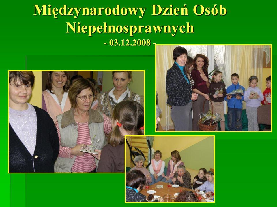 Międzynarodowy Dzień Osób Niepełnosprawnych - 03.12.2008 -