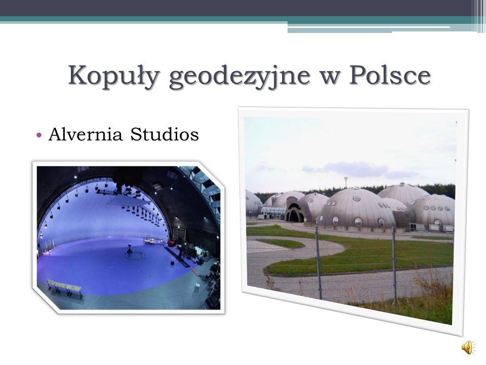Kopuły geodezyjne w Polsce Alvernia Studios